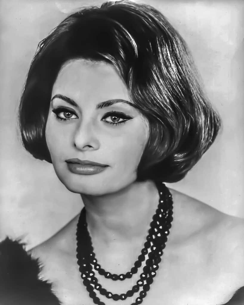 Sophia Loren Young